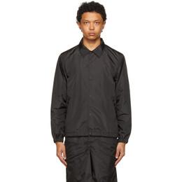 Fumito Ganryu Black Ventilation Coach Jacket Fu5-Bl-01