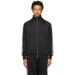 Fumito Ganryu Black Ventilation Track Jacket Fu5-Cu-02