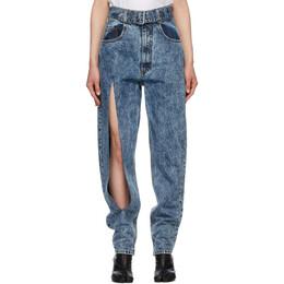Maison Margiela Blue Belted Jeans S51LA0076 S30617