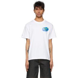 Jacquemus White Le T-Shirt Haricots T-Shirt 215JS04-215 21901A
