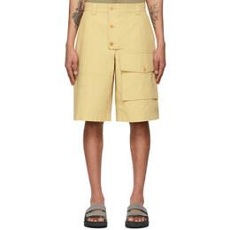 Jacquemus Yellow Le Short Laurier Shorts 215PA08-215 107230