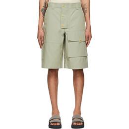 Jacquemus Grey Le Short Laurier Shorts 215PA08-215 101530