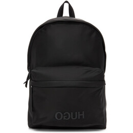 Hugo Black Record Backpack 50407488