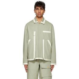 Jacquemus Grey Le Blouson Jacket 215BL03-215 101530