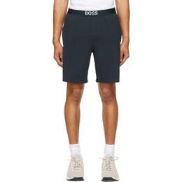 Boss by Hugo Boss Navy Identity Pyjama Shorts 50449829