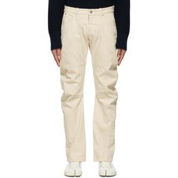 Maison Margiela Off-White Upcycled Modified Pocket Jeans S30LA0176 S30752