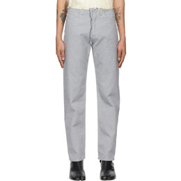 Maison Margiela Blue Raw Finish Jeans S30LA0178 S30754