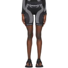 Misbhv Black Active Sport Shorts 021W509