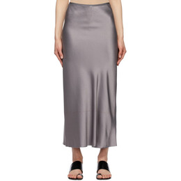 Maison Margiela Grey Classic Skirt S29MA0502 S49465