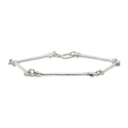 Takahiromiyashita The Soloist Silver Bone Bracelet sa.0023SS21
