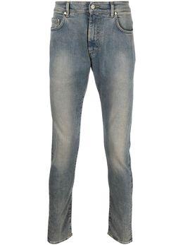 Represent узкие джинсы с эффектом потертости SS21M07043