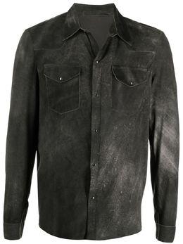 Salvatore Santoro куртка с эффектом потертости 40522U