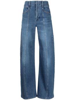 Chloe широкие джинсы с завышенной талией CHC21UDP31151