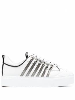 Dsquared2 stripe-detail sneakers SNW000701503994