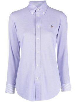 Polo Ralph Lauren рубашка с вышитым логотипом 211664427