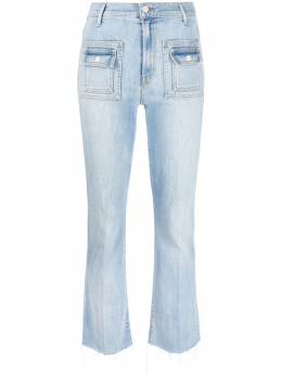 Mother high-waisted flared jeans 1917360
