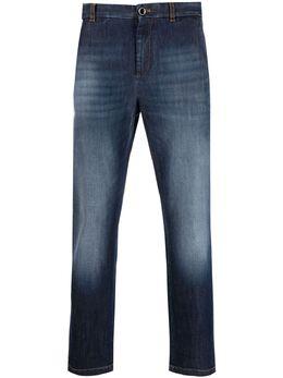 Pt01 узкие джинсы с эффектом потертости NJ01Z50CHNTX25