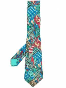 Hermes галстук 2000-х годов с принтом HMES180K
