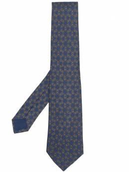 Hermes галстук 1990-х годов с принтом HMES150B