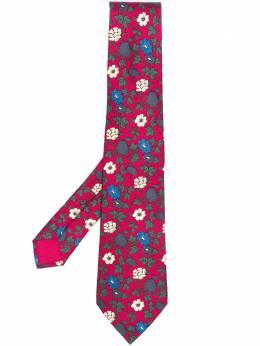 Hermes галстук 2000-х годов с цветочным принтом HMES180P