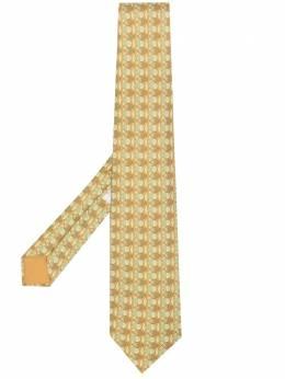 Hermes галстук 2000-х годов с принтом HMES180T