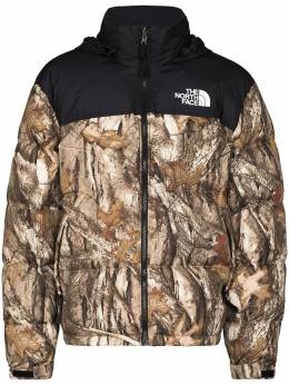 The North Face Nuptse Camo Forest padded jacket NF0A3C8D