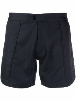 Ron Dorff diagonal-stripe tennis shorts 11SS13PP