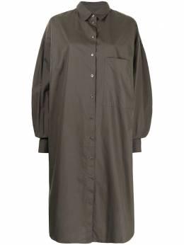 Marques'Almeida платье-рубашка миди с длинными рукавами SS21DR0245SHT