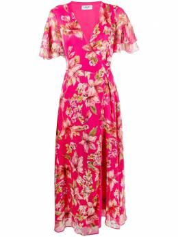 Liu Jo floral-print midi wrap dress WA1517T4837