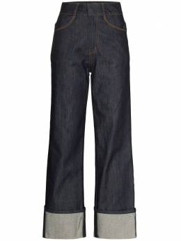 Low Classic rolled cuffs high-waisted jeans LOW21SSJN03DE