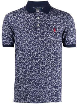 Polo Ralph Lauren рубашка поло Polo Pony с принтом 710835218