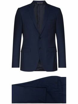 Canali notch-lapel single-breasted suit 1922591AA03167
