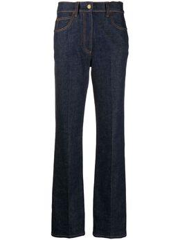 Fendi джинсы bootcut с завышенной талией FLP740AD9D