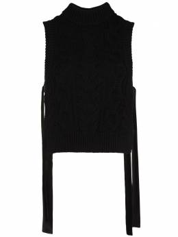 Cecilie Bahnsen side-tie sleeveless jumper SS21010088FRANCINEVEST