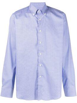 Canali рубашка на пуговицах с принтом N7C2GR01593