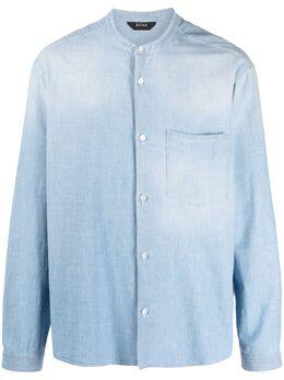 Z Zegna рубашка с воротником-стойкой ZCOG1905306