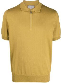 Canali рубашка поло с воротником на молнии MK00145