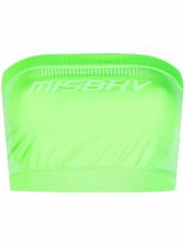 Misbhv укороченный топ без рукавов 021W538