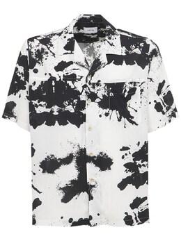 Рубашка С Принтом Rhude 73I5LU013-MDEyOA2