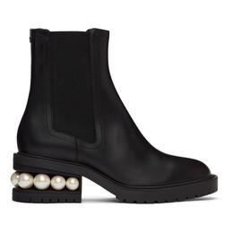Nicholas Kirkwood Black Casati Chelsea Boots 903A55VLSA