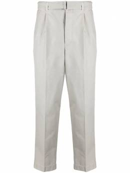 Officine Generale belted straight-leg trousers S21MCHN711