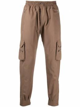 Represent спортивные брюки с карманами M08052
