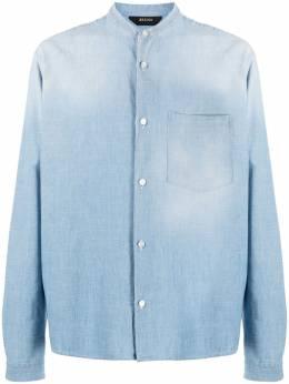 Z Zegna джинсовая рубашка с воротником-стойкой ZCOG1905306