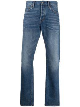 Tom Ford джинсы с нашивкой-логотипом TFD001BWJ31