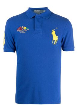 Polo Ralph Lauren рубашка поло Yacht Club с вышивкой 0477188