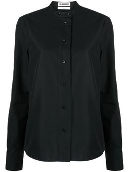 Jil Sander рубашка без воротника JSXR600705WR244700B