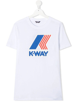 K Way Kids футболка с логотипом K009FF0