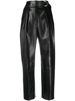 Jil Sander брюки с завышенной талией JSPR653170WRL00001