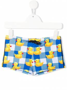 Mc2 Saint Barth Kids плавки-шорты Rubber Ducky TOB0001