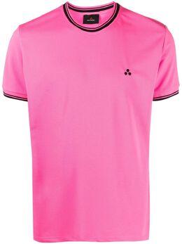 Peuterey футболка с контрастным воротником PEU394499012083